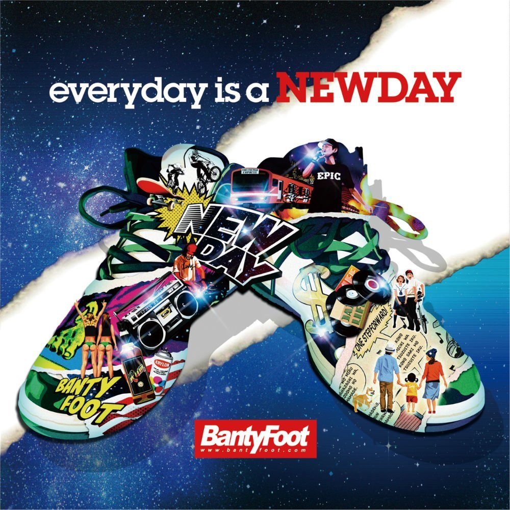 2018.04.20 BANTY FOOTの最新アルバム『every day is a NEW DAY』及び先行シングル『DIRECT』に参加